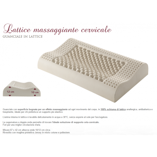 LATTICE MASSAGGIANTE CERVICALE